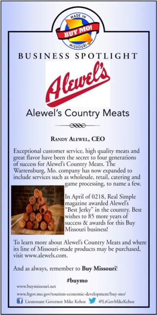 Business Spotlight: Alewel's Country Meats