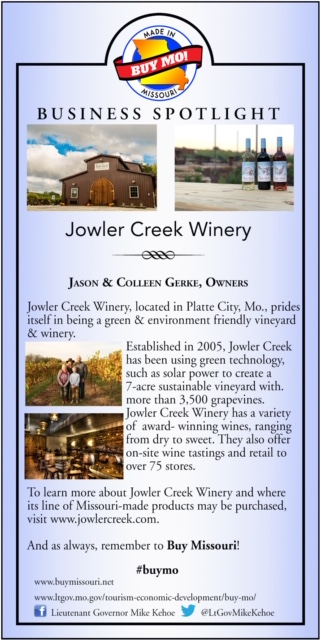 Business Spotlight: Jowler Creek Winery