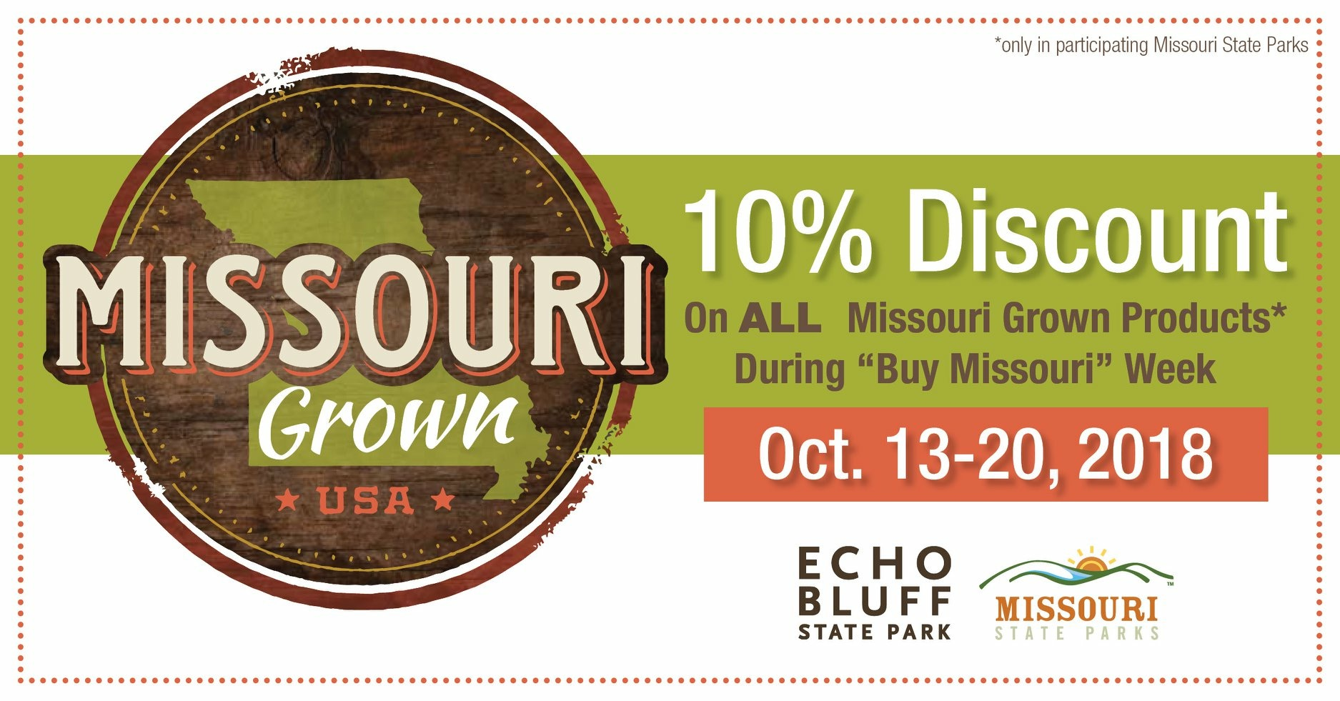 Missouri Grown Products Discount